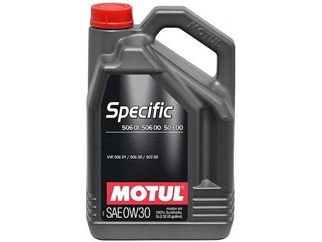 продам Motul Motul Specific VW 506 01/ 506 00 /503 00 0W-30 5л. бу в Одессе