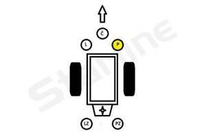 Опора двигателя и КПП VW PASSAT (3B2) / VW PASSAT (3B3) / AUDI A4 (8D2, B5) 1994-2008 г.
