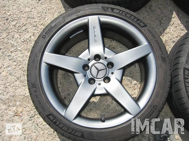 Оригинальные диски mercedes AMG R18 разноширокие A1714011602- объявление о продаже  в Миколаєві