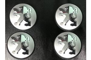 Peugeot 3008 2008-2016 гг. Колпачки в титановые диски 60/57мм Original-style (4 шт)