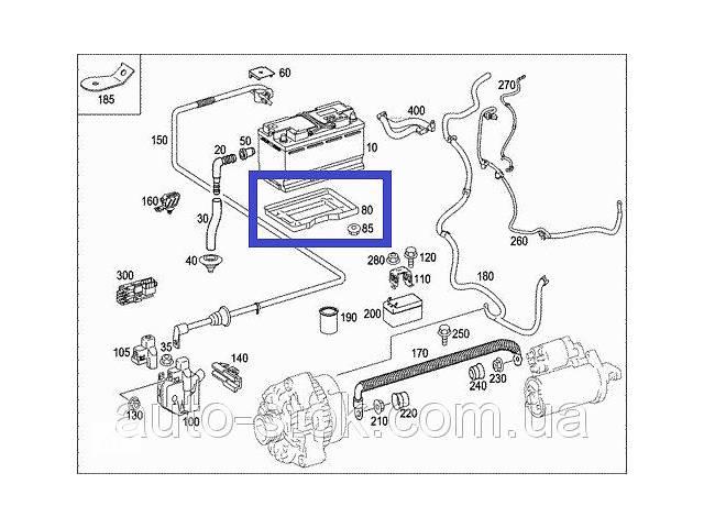 Площадка под аккумулятор Mercedes GL 420 CDI, X164, 2007 г.в. A2516160018- объявление о продаже  в Хмельницком