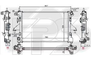 Новые Радиаторы Fiat Ducato