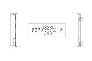 Радиатор кондиционера Mini 1.6i / 1.6D '10- (Koyoair)