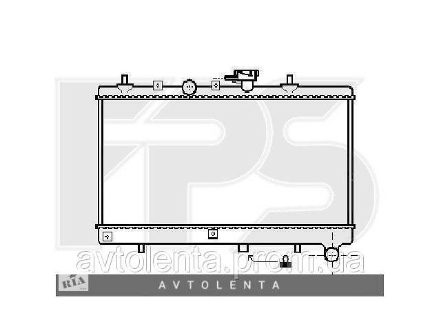 бу Радиатор охлаждения двигателя Kia Rio (Samsung) FP 40 A887-X в Києві