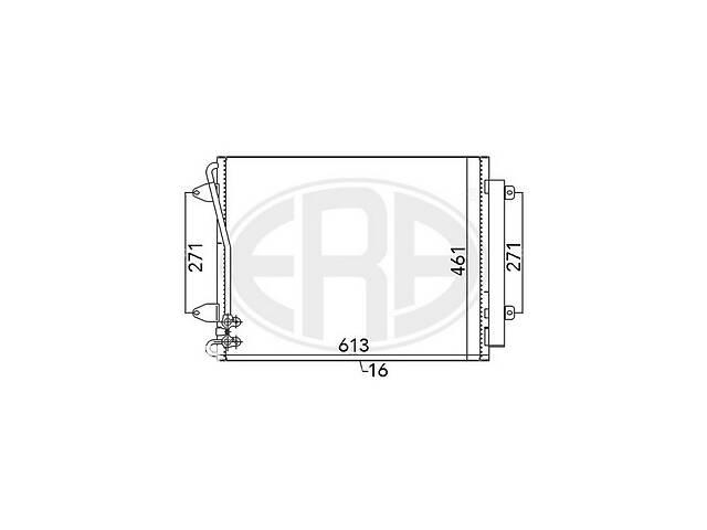 бу Радиатор VW CC (358) / VW PASSAT (3C2) / VW PASSAT (362) / VW PASSAT CC (357) 1998-2016 г. в Одессе