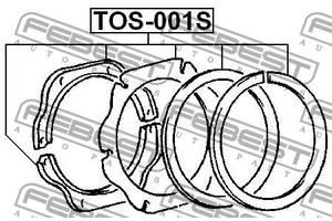 Ремкомплект сальников кулака TOYOTA LAND CRUISER (_J7_) 1984-2008 г.