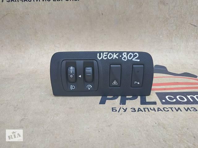 купить бу Renault Megane III 3 08 блок коректора фар кнопка паркування 648450001R в Чернігові