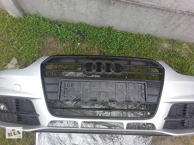 продам Решітка бампера б/у для Audi A4 Black - Shadow S-Line 2011, 2012, 2013, 2014, 2015 р. в. бу в Рівному