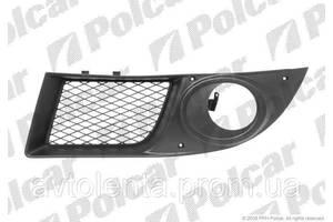Решетка бампера перед с отв под п/тум лев. 9.05- для Fiat Doblo 2001-2010 (119/223)