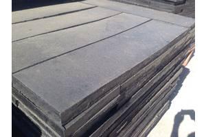Резиновая плита для отвала 40х250х1000 усиленная