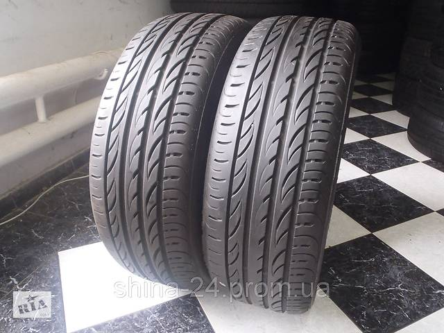 Шины бу 225/55/R17 Pirelli P Zero Nero GT Лето 7,13мм Резина бу 205/215/225/235/245/45/50/55- объявление о продаже  в Кременчуге