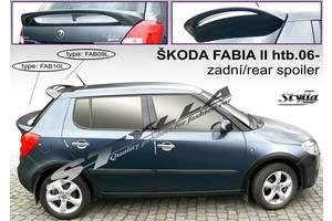 Новые Спойлеры Skoda Fabia