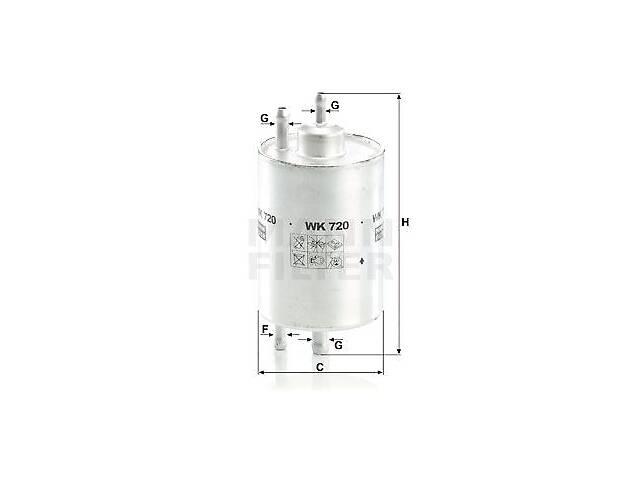 продам Топливный фильтр CHRYSLER CROSSFIRE / PUCH G-MODELL (W463) 1989-2012 г. бу в Одесі