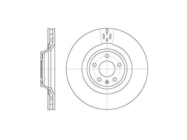 бу Тормозной диск AUDI A4 (8EC, B7) / AUDI A6 (4F2, C6) / AUDI ALLROAD (4BH, C5) 2000-2012 г. в Одессе
