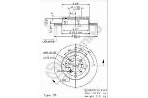 Тормозные диски Suzuki Alto