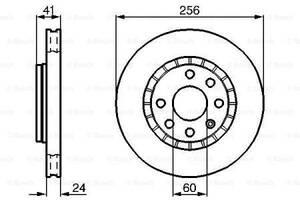 Тормозной диск  передний  CHEVROLET LANOS\ DAEWOO  CIELO  \ DAEWOO LANOS\ DAEWOO NEXIA