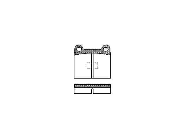 Тормозные колодки, к-кт. AUDI 50 (86) / VW POLO (86) / VW DERBY (86) 1972-1994 г.- объявление о продаже  в Одессе