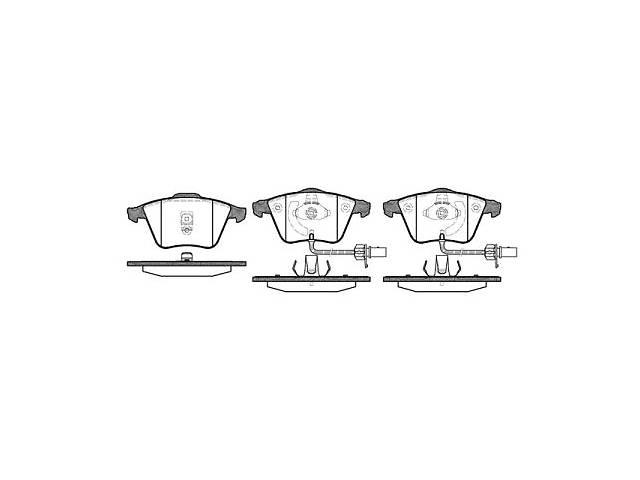 продам Тормозные колодки, к-кт. AUDI A6 (4B2, C5) / AUDI ALLROAD (4BH, C5) 1997-2005 г. бу в Одессе