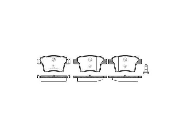 Тормозные колодки, к-кт. BYD M6 / BYD S6 / JAGUAR X-TYPE (X400) / FORD 2000-2009 г.- объявление о продаже  в Одессе