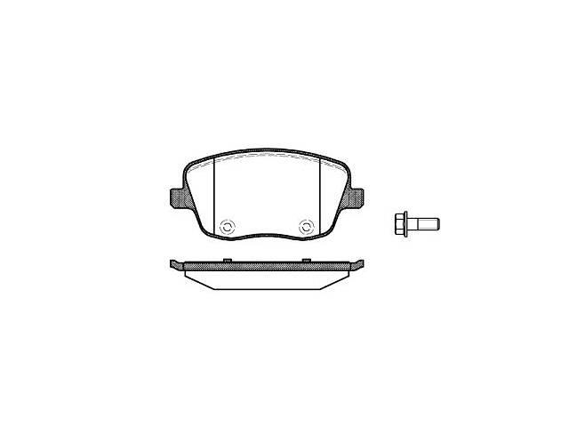 купить бу Тормозные колодки, к-кт. VW POLO (9N_) / SEAT CORDOBA (6L2) 1995-2015 г. в Одессе
