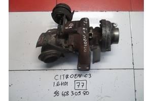 б/у Турбины Citroen C3