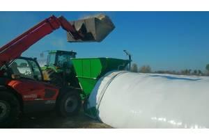 Упаковщик жома зерна кукурузы в полимерные рукава