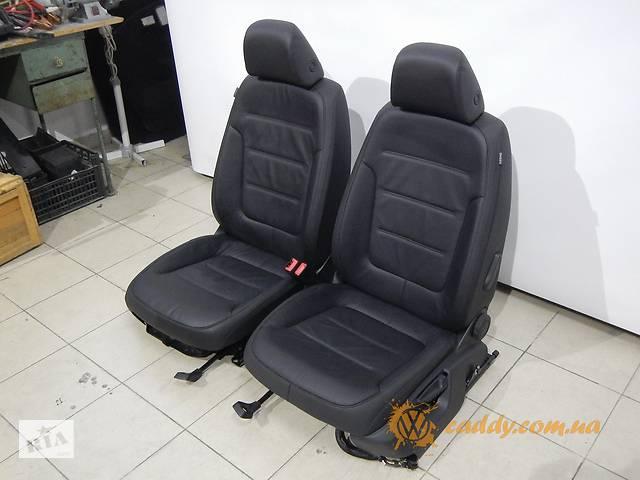 бу Volkswagen Touareg R-line - передние кожаные сиденья в Киеве