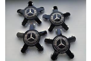 """Заглушки на диски Audi  """"звезда"""" 135/57/13 мм. с логотипом Mercedes-Benz"""