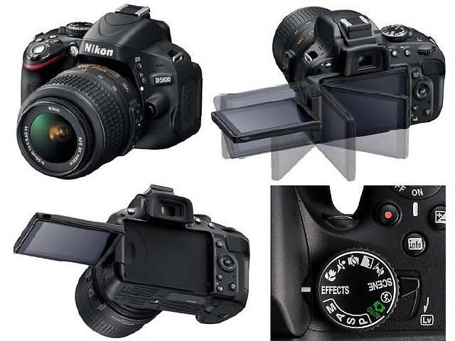 бу Зеркальная камера Nikon D5100 18-55 VR kit в Луцке
