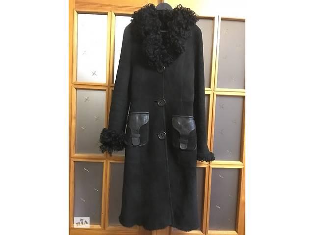 Дубленка натуральная (S размер) чёрная- объявление о продаже в Харкові b4df10735bded