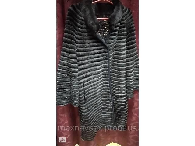 купить бу Кардиган из норки в роспуск двусторонний, пальто меховое. в Одессе