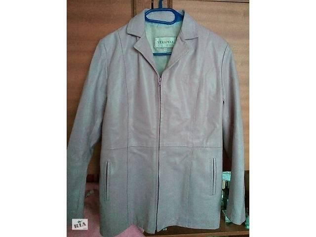 Шкіряна куртка - піджак на блискавці - Верхній жіночий одяг в Києві ... 6391a756c490a