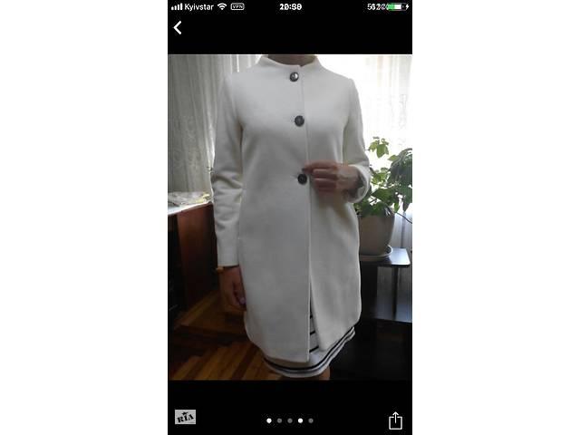 продам Пальто женское демисезонное Белое бу в Мелитополе