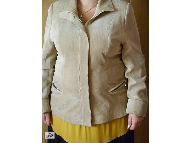 Вельветова Курточка на блискавці- объявление о продаже  в Ромнах
