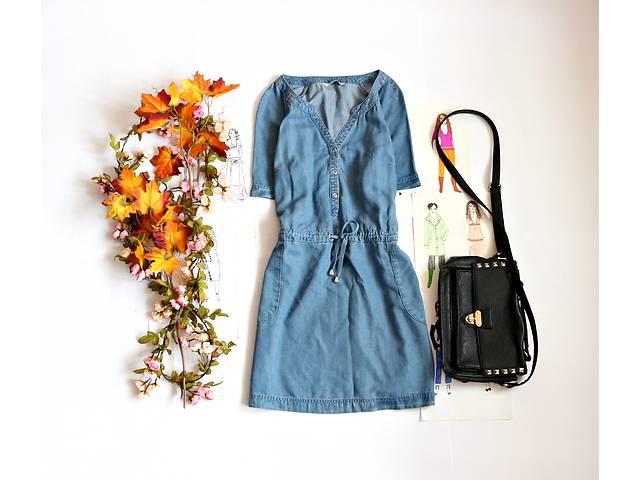 Женское джинсовое платье с карманами- объявление о продаже  в Полтаве