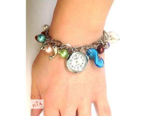 продам Женские наручные часы в морском стиле бу в Харькове