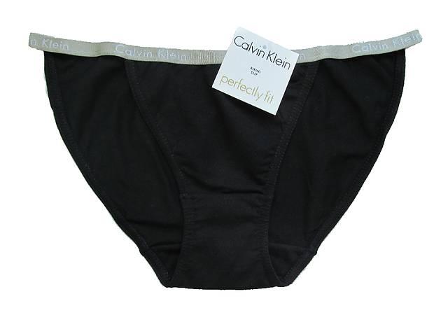 Женские трусики танга Calvin Klein bikini Perfectly fit. Ткань хлопок.- объявление о продаже  в Харькове