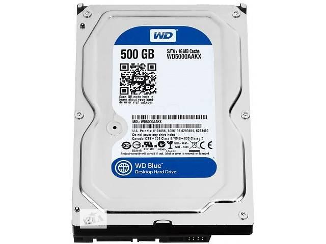 Жесткий диск HDD WD 3.5 0.5TB 7200rpm 16MB SATA 3.0 Blue- объявление о продаже  в Киеве