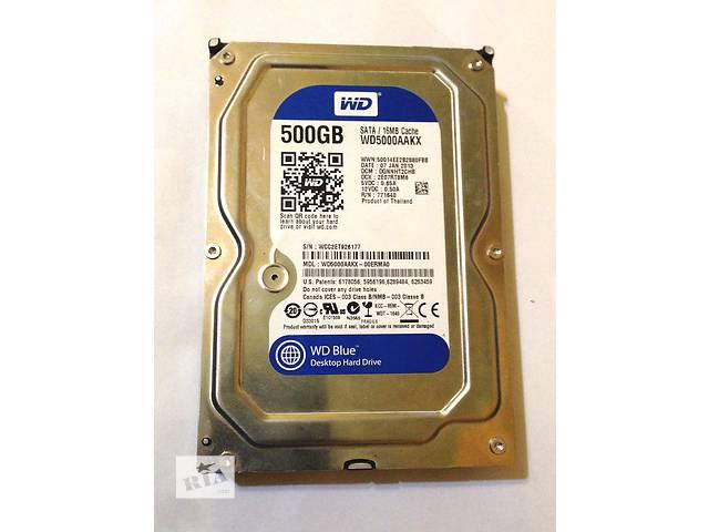 Жесткий диск SATAII 500 Gb Western Digital WD5000AAKX- объявление о продаже  в Краматорске