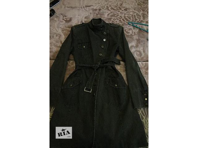 купить бу Жіноче пальто мілітарі в Стрые