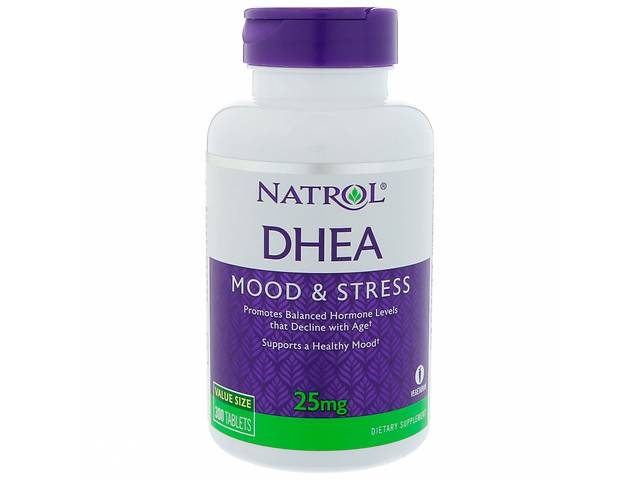 Дегидроэпиандростерон DHEA Natrol 25 мг 300 таблеток (1105)- объявление о продаже  в Киеве