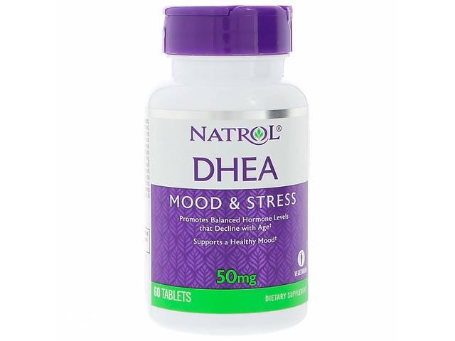 Дегидроэпиандростерон DHEA Natrol 50 мг 60 таблеток (1080)- объявление о продаже  в Киеве
