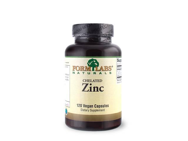 купить бу FLN Chelated Zinc 15 mg 120 caps в Дубні