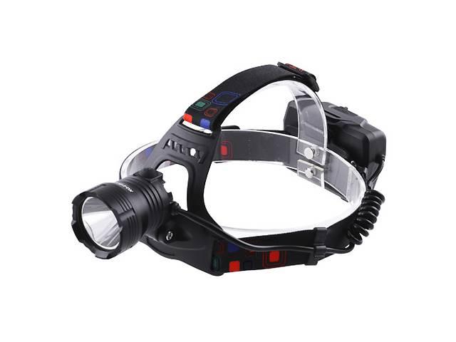 Фонарь налобный XQ-219-HP50, ЗУ microUSB, 3x18650, signal light