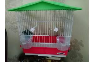 Клетка итальянская для попугая, канарейки, амадин, комячка, мышей, крыс в отличном состоянии