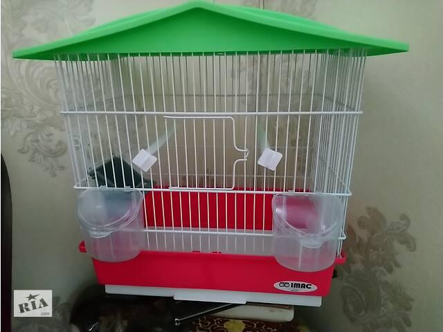 Клетка итальянская для попугая, канарейки, амадин, комячка, мышей, крыс в отличном состоянии - объявление о продаже  в Хмельницком