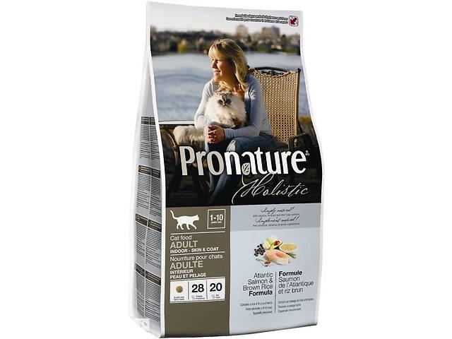 купить бу Корм для кошек котов люкс Pronature Holistic Cat Turkey & Cranberries в Киеве