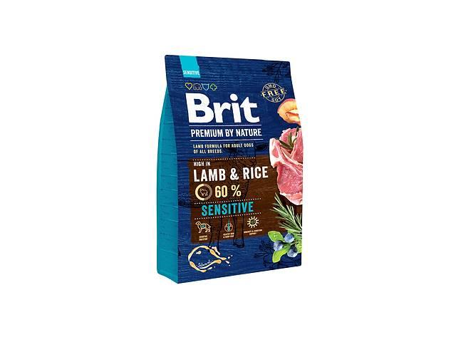 бу Сухой корм для собак Brit Premium Sensitive Lamb and Rice,15 кг Брит Сенситив в Киеве