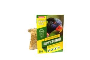 Корм Прыг и Скок Фруктовый для попугаев всех видов 500 г