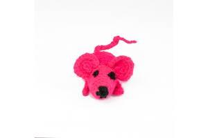 Мишка іграшка для кота в'язана